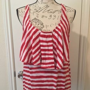 Striped Old Navy tank top